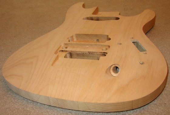 Carpentry 7 string alder ibanez sabre guitar body ccuart Gallery
